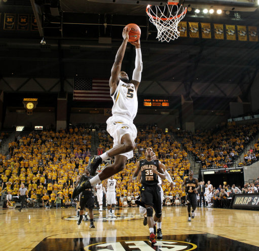Basketball - Missouri vs Appalachian State - Missouri