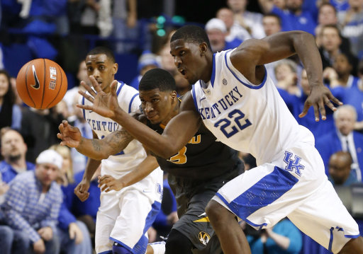Basketball - Missouri vs Kentucky - Lexington