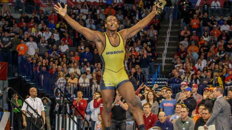 J'Den Cox 2014 NCAA Champion