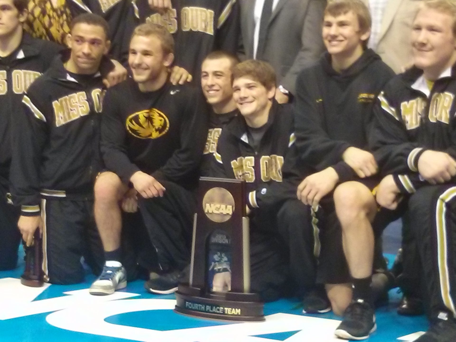 Mizzou Wrestling 4th Place