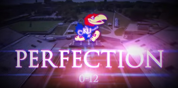 Kansas Football Perfection