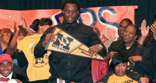 Terry Beckner Jr Signing Day