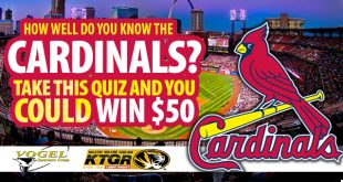 take the cardinals quiz for a chance to win $50
