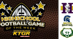 KTGR Football CPS Game of Week