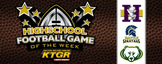 KTGR Football CPS Game of Week